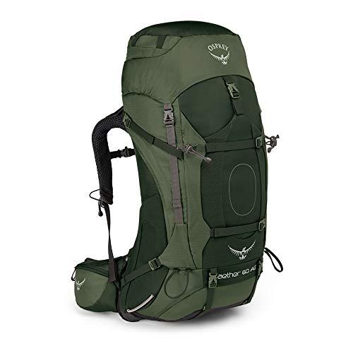Detalles de la mochila de trekking Osprey Aether AG60