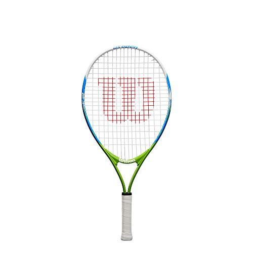 Wilson, Raqueta de tenis para niños, US OPEN 23, Multicolor, 23 in-58.4 cm