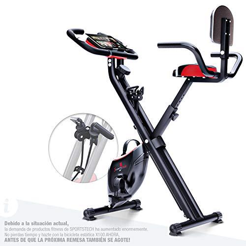 Descripción de la bicicleta estática Sportstech F-Bike X100-B