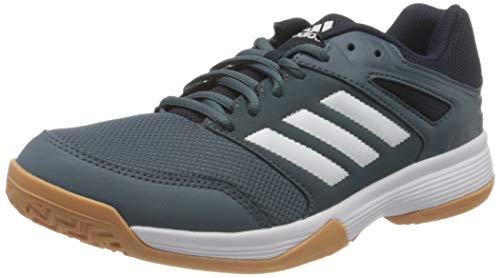 adidas Speedcourt, Handball Shoe Hombre, Legacy Blue/Footwear White/Legend Ink, 41 1/3 EU