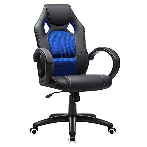 Descripción de la silla de escritorio Songmics Racing OBG56L
