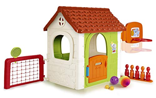 Detalles de la casita infantil de juegos Feber Multiactivity House