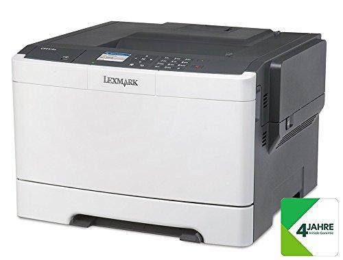 Detalles de la impresora HP láser Lexmark CS410dn
