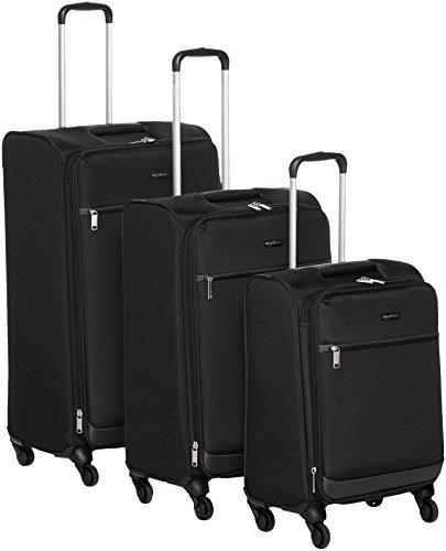 Descripción del juego de maletas Amazon Basics