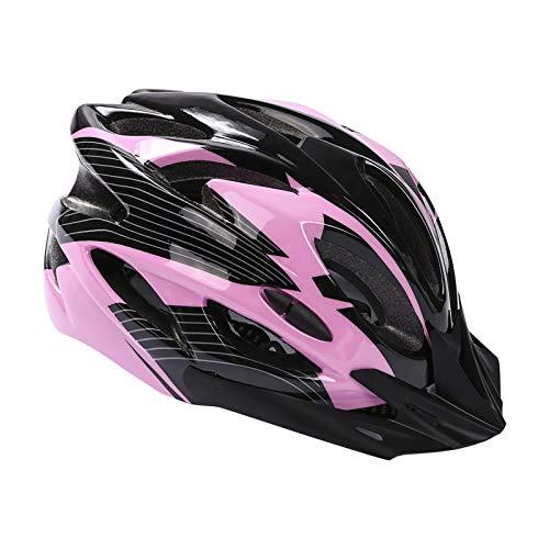 Casco de Bicicleta, Montaña Casco de Bicicleta para Adultos Ajustable con Visera Extraíble para Bicicleta MTB City Specialized Casco de Bicicleta Todoterreno Casco de Bicicleta para Hombres y Mujeres