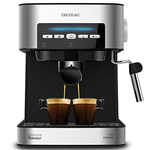 Detalles de la cafetera espresso Cecotec Power 20 Matic