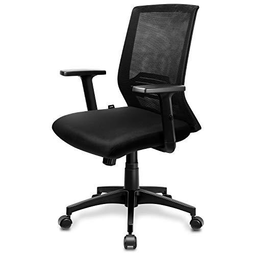 Descripción de la silla ergonómica con reposacabezas ajustable Intey