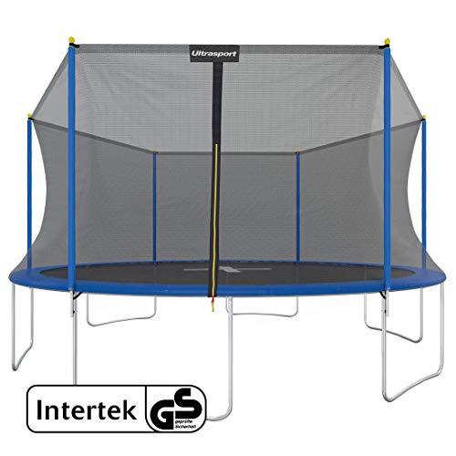 Detalles de la cama elástica con red de seguridad Ultrasport