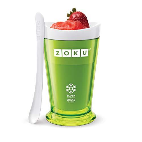 Descripción de la heladera Zoku Slush & Shake Maker