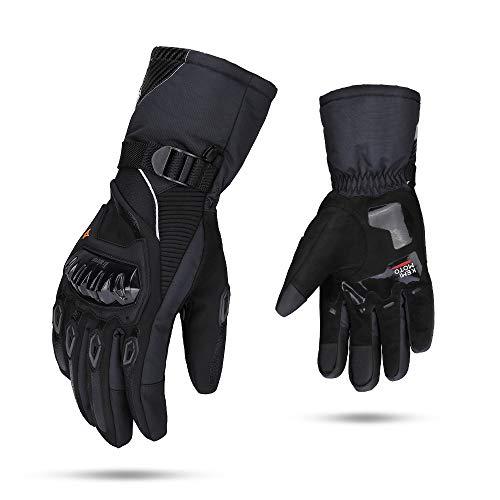 Détails des gants de moto et compatibilité avec l'écran tactile