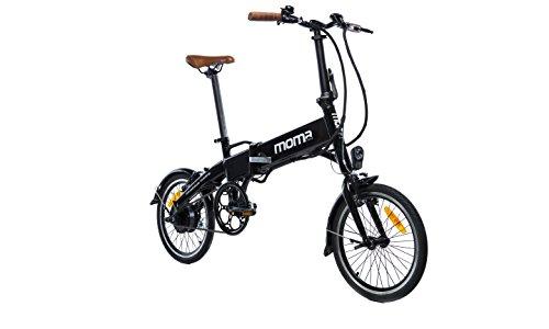 Descripción de la bicicleta eléctrica Moma Bikes E-16 Teen
