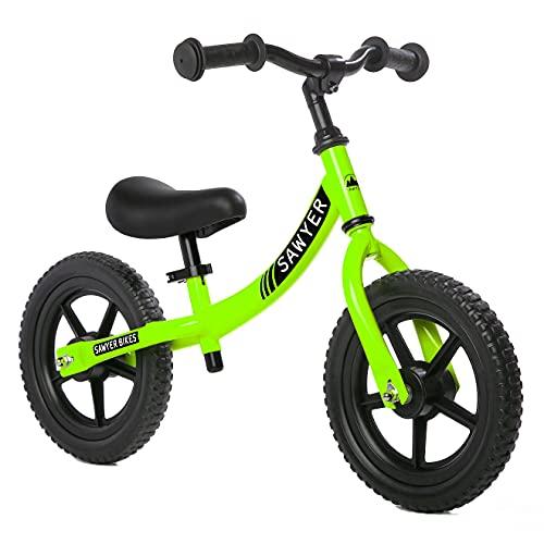 Detalles de la bicicleta sin pedales Sawyer