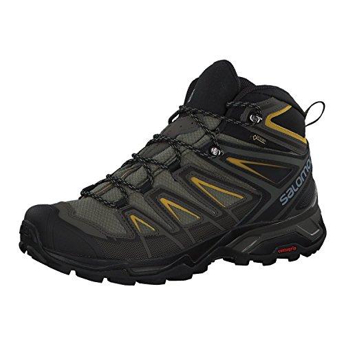 Detalles de las botas de montaña Salomon X Ultra Mid GTX