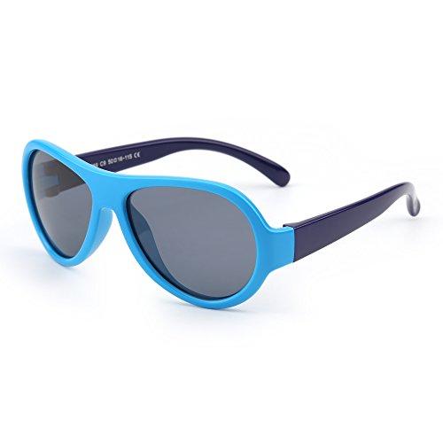 Detalles de las gafas de sol infantiles polarizadas JM