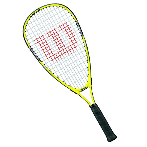Wilson Ripper Junior Raqueta de squash para niños, Amarillo/Negro