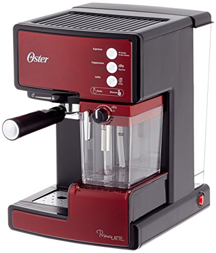 Detalles de la cafetera espresso Oster Prima