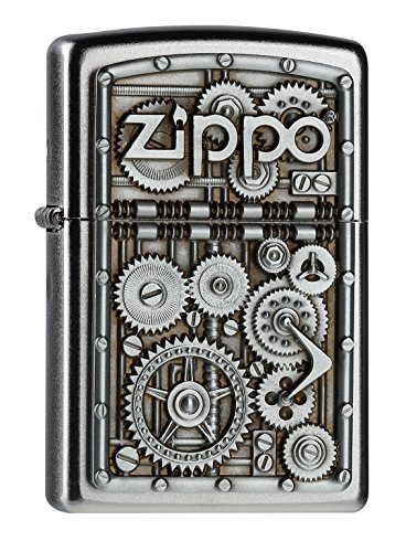 Detalles del encendedor Zippo Gear Wheels