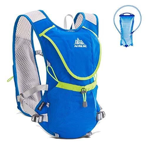 Detalles de la mochila de hidratación para trail running Azarxis
