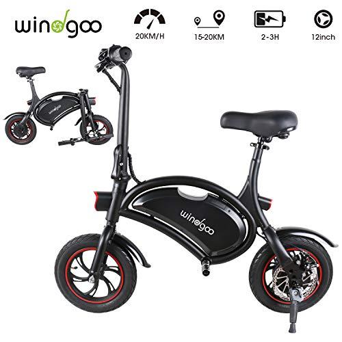 Descripción de la bicicleta eléctrica plegable Windgoo