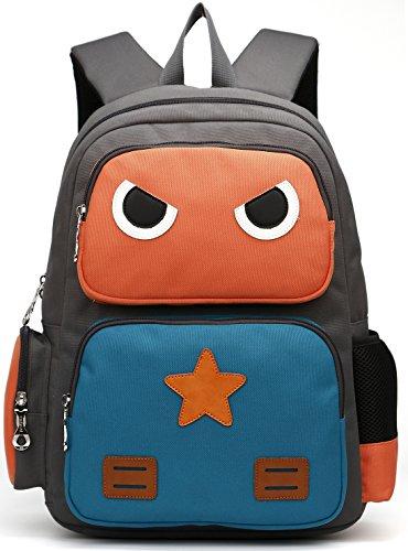 Detalles de la mochila escolar DCCN