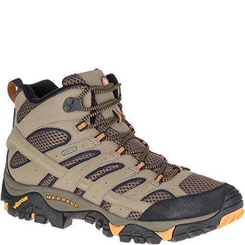 Detalles de las botas de montaña Merrell Moab