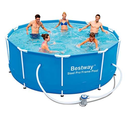 Detalles de la piscina desmontable Bestway Steel Pro