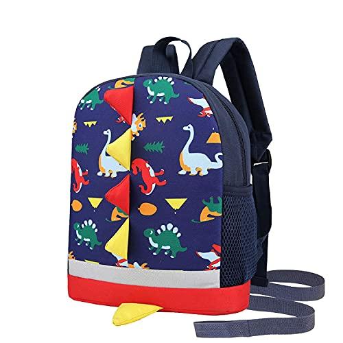 RUI NUO Mochila infantil antipérdida, mini mochila escolar para bebés, niños y niñas
