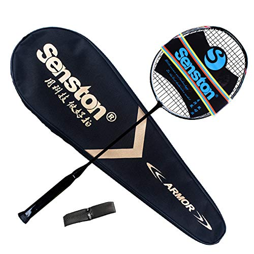 Detalles de la raqueta de bádminton Senston N80 Grafito