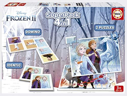 Descripción de la caja de juegos de Frozen