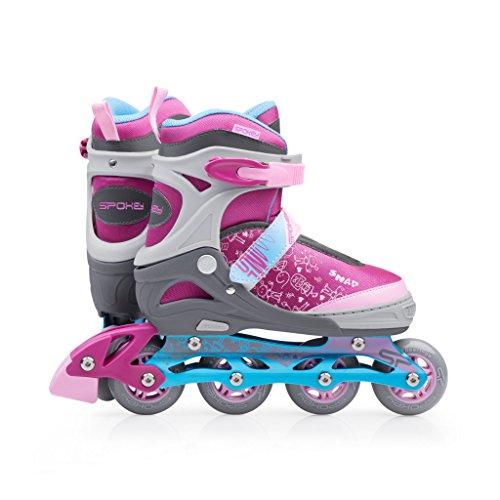 Detalles de los patines infantiles Spokey