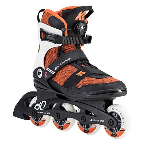Detalles de los patines K2 Alexis 80 Boa