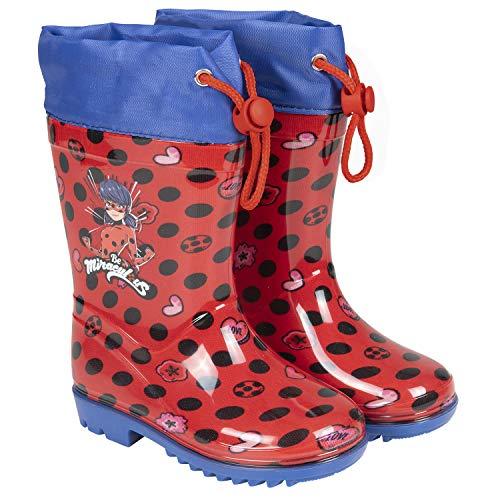 Detalles de las botas Perletti Miraculous Ladybug