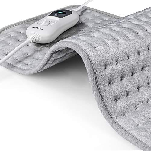 Detalles de la manta eléctrica MVPower para cuello y espalda
