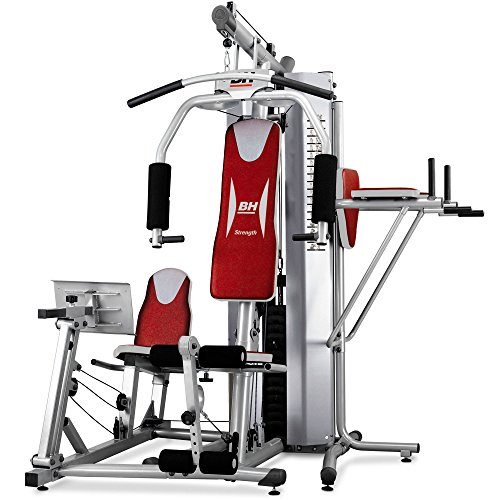 Detalles de la máquina de musculación multiestación BH Fitness Global Gym Plus