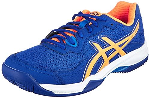 ASICS Gel-Padel Pro 4, Zapatillas de Running Hombre, Monaco Blue Orange Pop, 42 EU