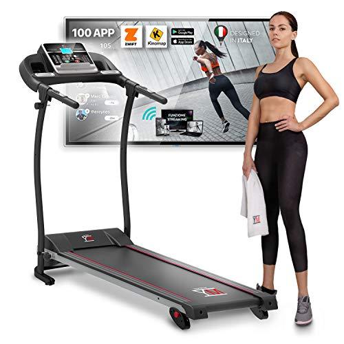 Detalles de la cinta de correr YM Fitness