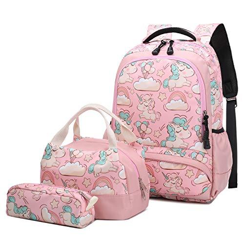 Detalles de la mochila escolar para niña