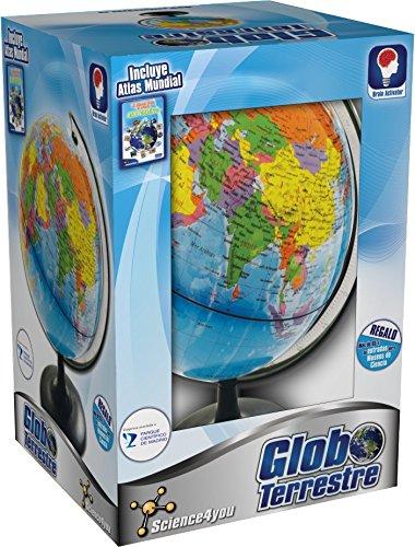 Descripción del globo terráqueo Science4you
