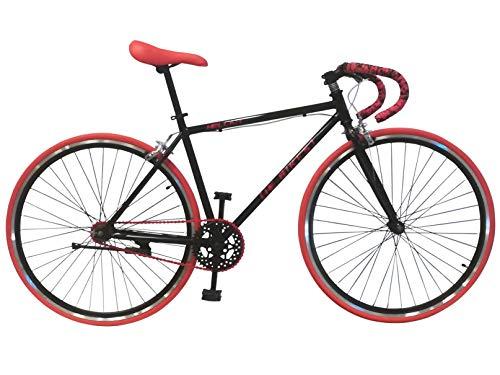 Bicicleta urbana unisex Helliot Bikes Fixie Soho H03