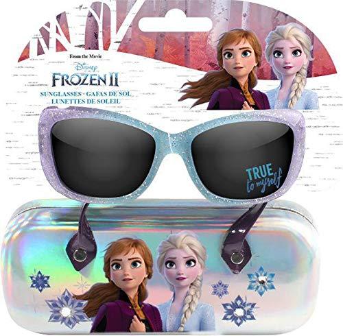 Disney Frozen Premium 2 con Funda Gafas de Sol Montañismo, Alpinismo y Trekking Infantil, Juventud Unisex, Multicolor (Multicolor), Talla Única