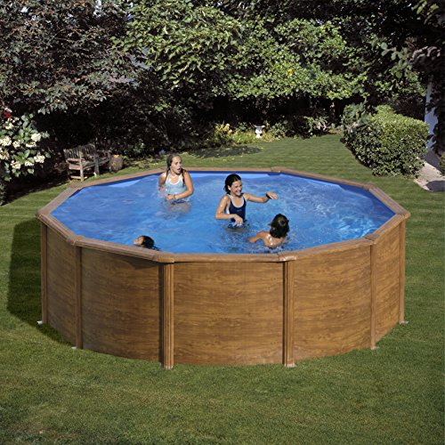 Detalles de la piscina desmontable Gre KITPR303W Sicilia