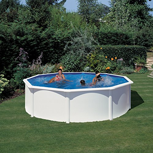 Detalles de la piscina desmontable Gre KIT460ECO Fidji