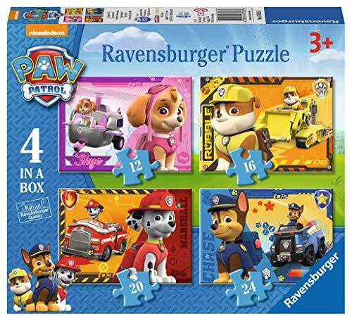 Detalles del puzzle infantil de la patrulla canina de Ravensburger
