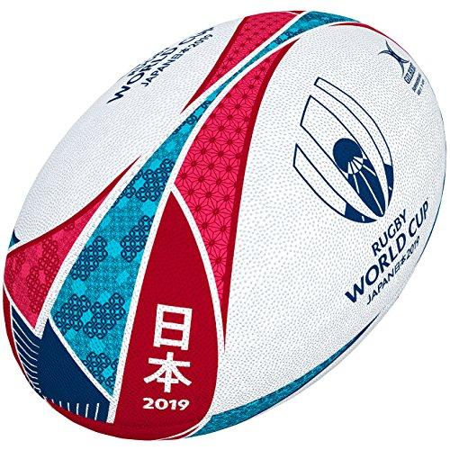 Descripción del balón de rugby Gilbert World Cup Japan
