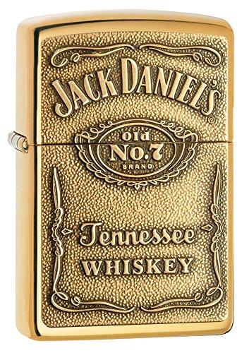Detalles del encendedor Zippo Original Jack Daniels