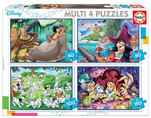 Detalles del puzzle para niños clásicos Disney de Educa