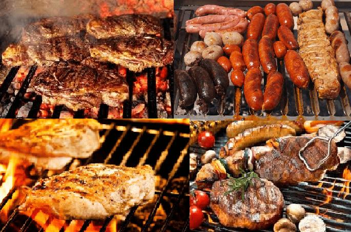 Prepara la carne de la barbacoa