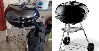 opinión barbacoa weber compact kettle