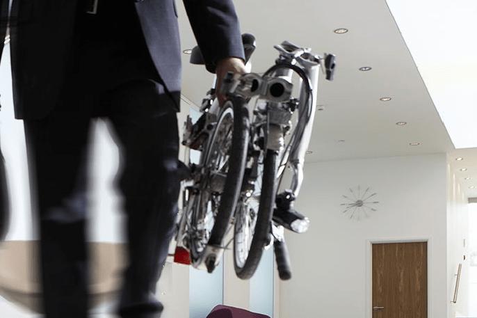 Qué es una bicicleta plegable