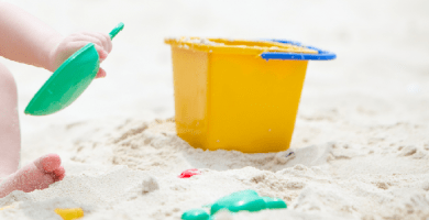 juegos de playa para niños